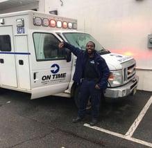 Kemoy Davidson   On Time EMT Field Supervisor