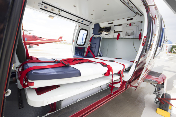 air ambulance high costs