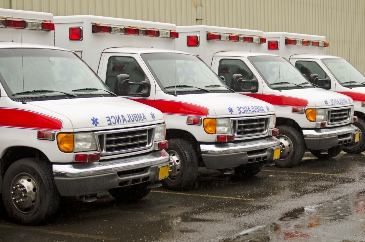 ambulance_fleet_in_parking_lot